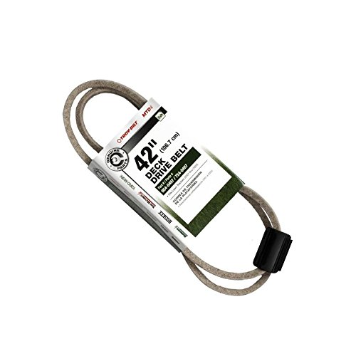 Replace Belt Mower (Genuine Parts 490-501-M053 Troy-Bilt 42-in Deck/Drive Belt for Riding Lawn Mowers)