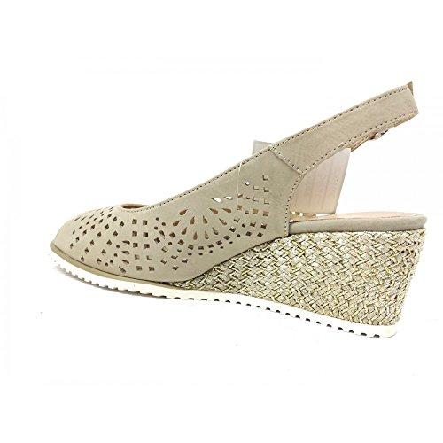 Beige Shoes Beige Beige Women's Court VALLEVERDE wEHxYqXp0