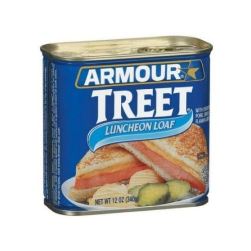 Armour Treet Luncheon Meat Loaf, 12 Ounce -- 12 per case.