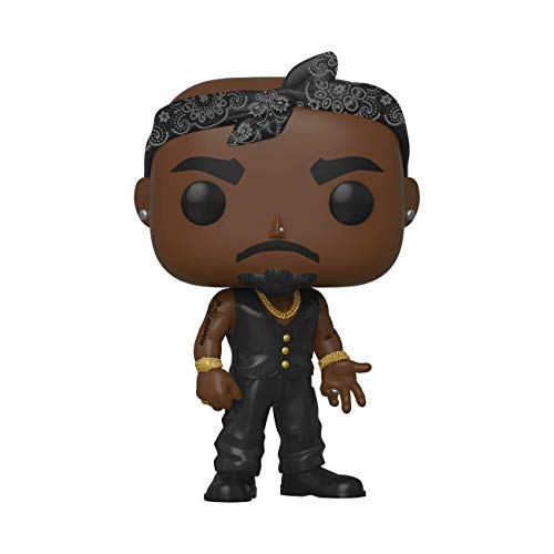 Funko- Pop Rocks Tupac Collectible Toy, Multicolor (45432)