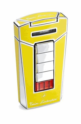 Tonino Lamborghini Aero Yellow Torch Flame Cigar Lighter by Tonino Lamborghini