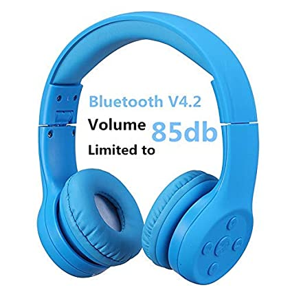 Hisonic Auriculares Bluetooth Compatible con Todos Dispositivos Bluetooth (Azul 01)