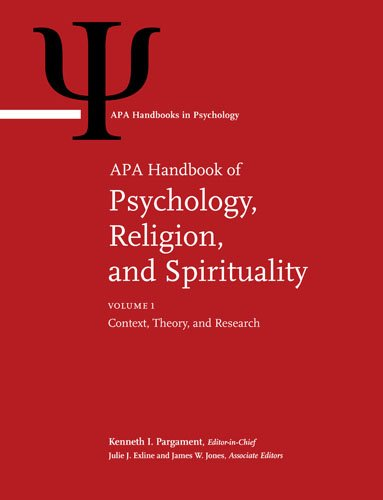 APA Handbook of Psychology, Religion, and Spirituality (Apa Handbooks in Psychology) - (2-Vol Set)