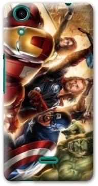 Coque Wiko Rainbow Lite 4G Superheros 2 Conceptiontic Avenger ...