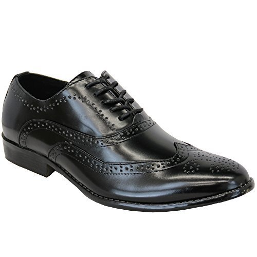 Hommes Italiennes Habill Brogue Chaussures Pour X7OpWqwUx
