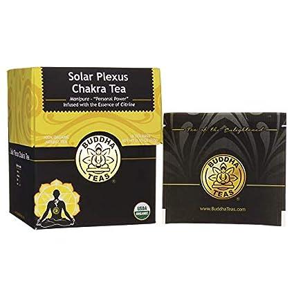 Buda Tés – Solar Plexus Chakra té 18 bolsa: Amazon.com ...