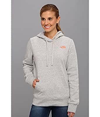 The North Face Women's EMB Logo Pullover Hoodie Heather Grey Small