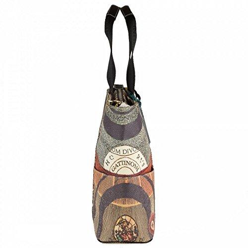 Gattinoni , Sac pour femme à porter à l'épaule Multicolore multicolor