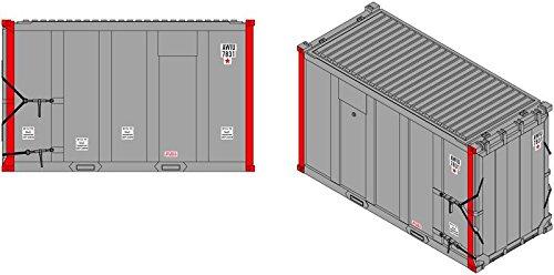 (Atlas ATL20004485 HO TM 20' High-Cube MSW Container, AMIU/Sojo #2(4) )