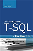 Sams Teach Yourself T-SQL in One Hour a Day Front Cover