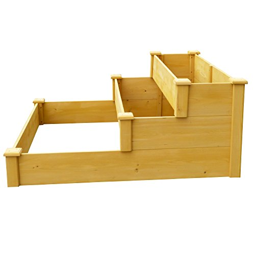 Leisure Season RGB4848 3 3-Tier Raised Garden Bed by Leisure Season