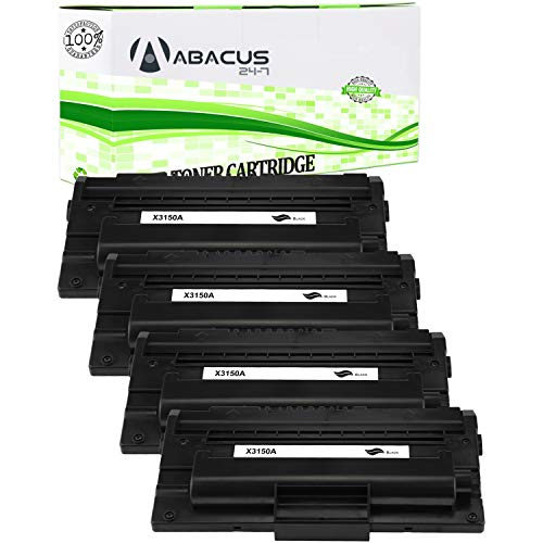 Abacus24-7 Compatible Toner Cartridge Replacement for Xerox 109R00746 Black Toner Cartridge for use with Xerox Phaser 3150/3150B Laser Printer (4-Pack)