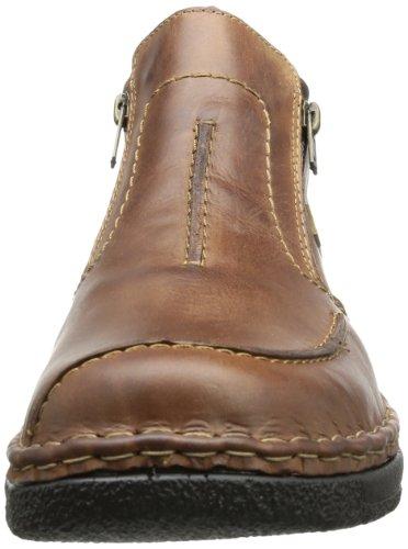 Rieker B0273 - Botas de cuero hombre marrón - Braun (marrone/moro 26)