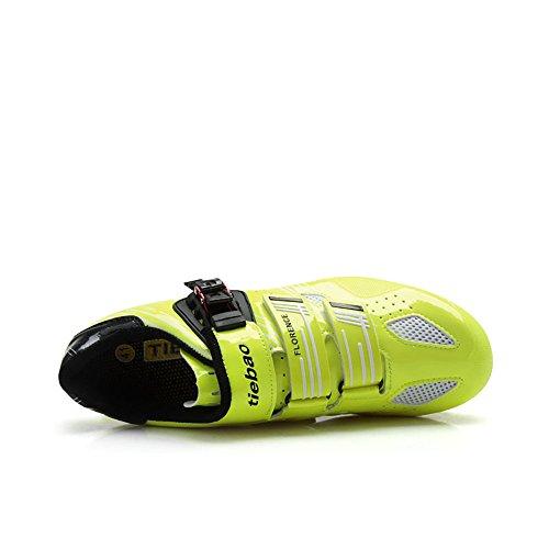 Tiebao Radfahren Schuhe Carbon Mountain MTB Fahrradschuhe Für Männer Zyklus Turnschuhe Männer Athlet Schuhe Grün