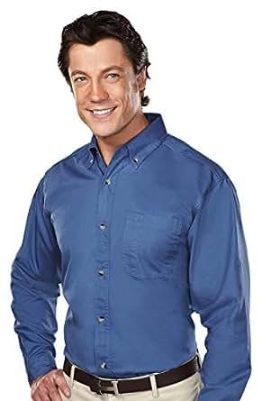 Tri-Mountain 770 Professional w/Dupont™ Teflon Stain Resistant Shirt, French Blue, 2XLT