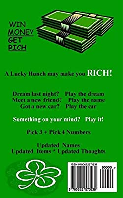 Gigi's Lottery Dream Book: Pick 3 and Pick 4 Numbers: J