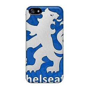 New Tpu Hard Case Premium Iphone 5/5s Skin Case Cover(chelsea Fc)