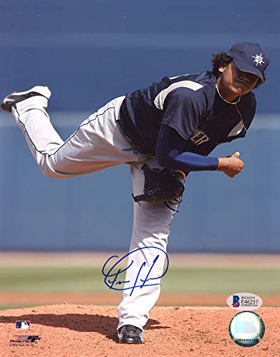 - Felix Hernandez Signed Auto 8x10 Photo Seattle Mariners - Beckett Certified