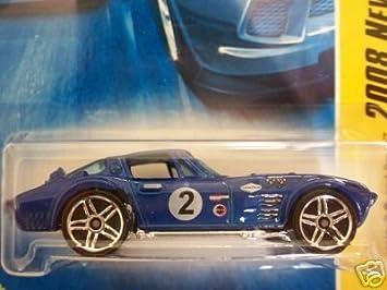 Amazon.com: Mattel Hot Wheels 2008 New Models 1:64 Scale Blue Chevy Corvette Grand Sport Die Cast Car #008: Toys & Games