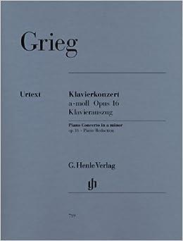 グリーグ: ピアノ協奏曲 イ短調 Op.16/ヘンレ社/原典版/ピアノ・リダクション版