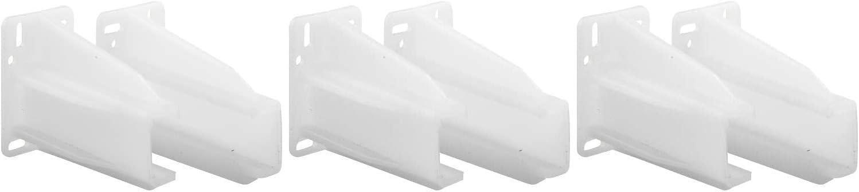 White Nylon Prime-Line Products Rear Drawer Track Socket