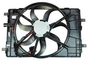 TYC 621400 Ford/Mercury Replacement Radiator Cooling Fan Assembly