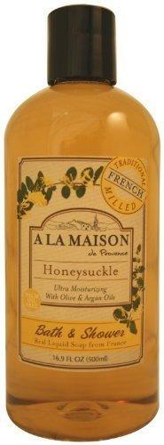 Honeysuckle Vitamins - A La Maison, Shower Gel Honeysuckle, 16.9 Fl Oz