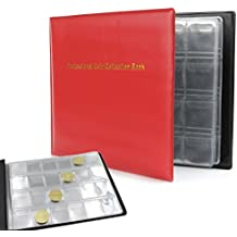 Amrka 240 Collection Storage Penny Pockets Money Album Book Collecting Coin Holders