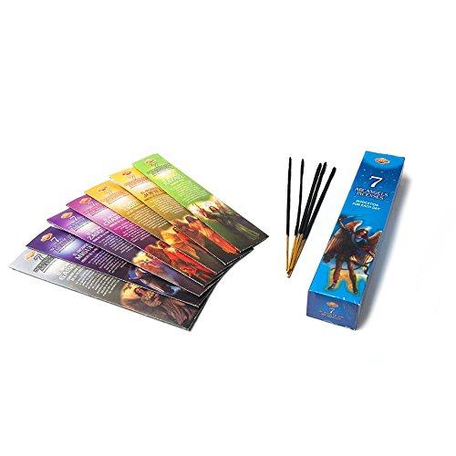 - FindSomethingDifferent 7 Archangel Incense Assortment 5 Josticks per Pack