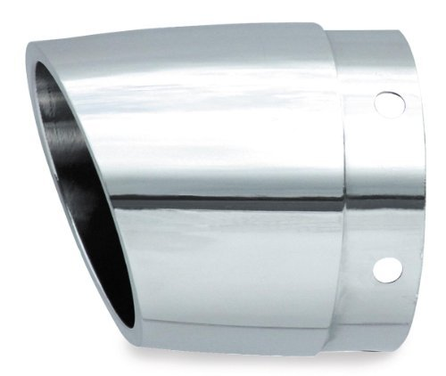 Rush Performance Taper Style Angle Cut Muffler Tip (4.0) (Chrome) ()