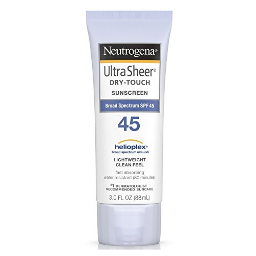 Price comparison product image Neutrogena Ultra Sheer Dry-Touch Sunscreen SPF 45, 3 oz (Pack of 2)