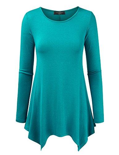 Womens Round Sleeve Loose Tunic product image