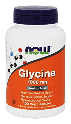 NOW Foods Glycine Pharmaceutical Grade