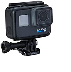 HERO6 Black transforms your adventures into incredible QuikStories right on your phone. With its all-new GP1 chip, next-level video stabilization and 2x the performance, looking good has never been so easy. Add voice control and a durable wat...