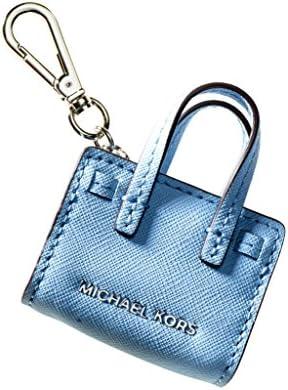 MICHAEL Michael Kors Womens Dillon Signature Charm Fashion Keychain Blue O/S