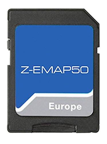 Z-Exx50 16 Karte mit EU-Karte 47 Lä nder. Die Karte fü r alle Zenec Essential II Gerä te.