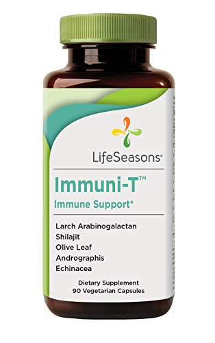 LifeSeasons – Immuni-T – Immune System Booster Supplement – Cold and Flu Season Support – Rapid Immune Response – Andrographis and Echinacea – 90 Capsules