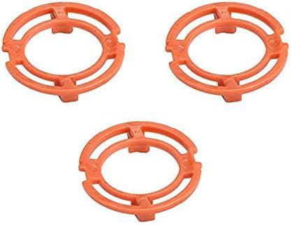 Anillo de bloqueo (placa de retención, soporte) para los cabezales de afeitado Philips Modelo/Tipo SH70 y SH90/RQ12 (color naranja). Afeitadora Serie S7000 S900: Amazon.es: Salud y cuidado personal