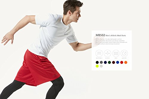 Tesla-Mens-Quick-Dry-Active-Shorts-Sports-Performance-HyperDri-II-With-Pockets-MBS02-MBS01-MTP07