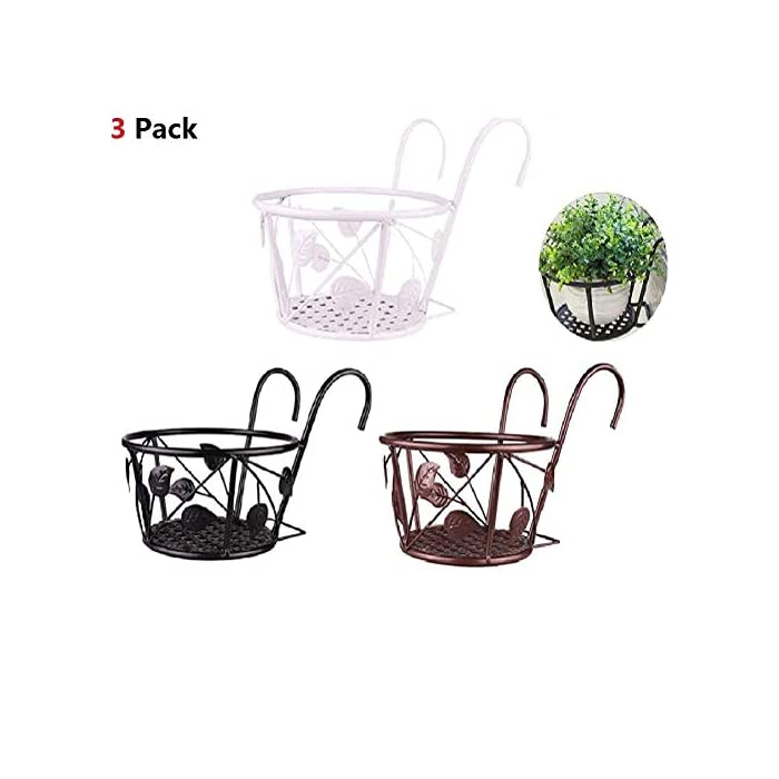 Hanging-Planters-Basket-Metal