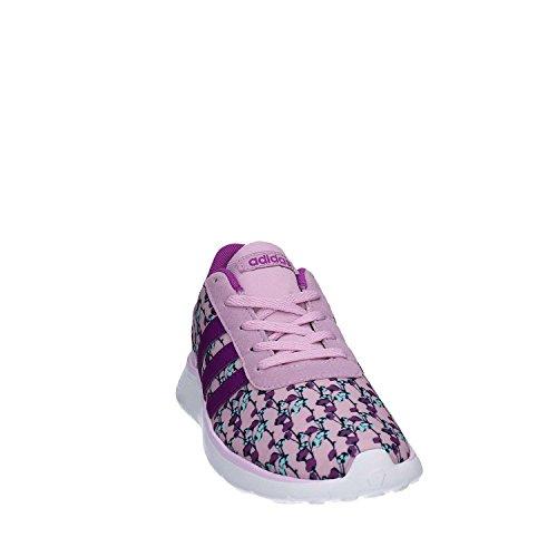 adidas Lite Racer K, Zapatillas Unisex Niños, Rosa (Orqcla/Pursho/Ftwbla), 35 EU