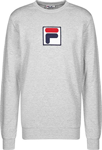 Fila Mélange Rian Grigio Crew Sweater C6q0wfZx7