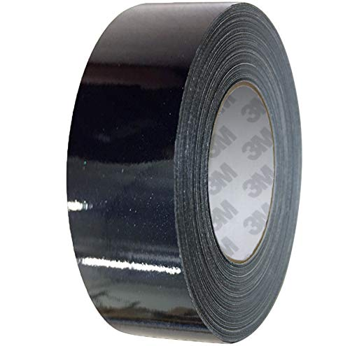 VViViD 3M 1080 Metallic Black Gloss Vinyl Detailing Wrap Pinstriping Tape 20ft Roll (4