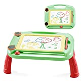 Makalon 2020 Kids Magnetic Drawing Board with Holder Graffiti Painting Board Educational Toys (Green)