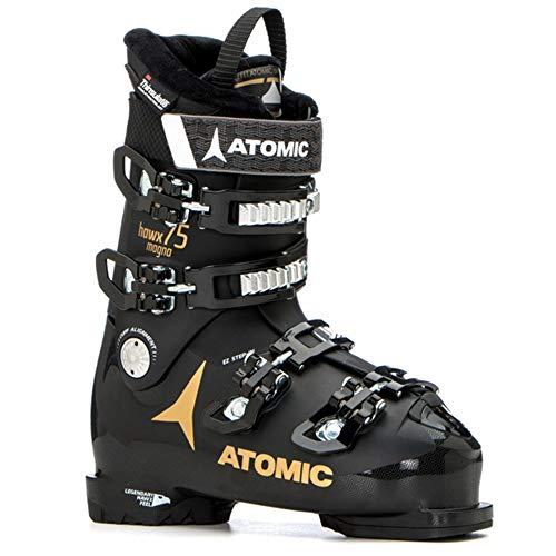 (Atomic HAWX Magna 75 W Womens Ski Boots 2019-23.5/Black-Gold)