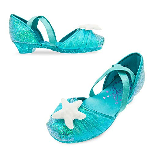 Disney Ariel Costume Shoes for Kids Size 11/12 YTH Multi