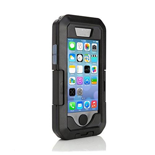 ArktisPRO 1125939 Wasserdichtes Fahrrad Case für Apple iPhone 6 Plus