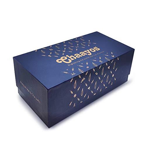 Chaayos Festival Gift Box – Assorted Chai & Kulhad for Tea Lovers | Tea Gift Box | Tea Gift Hamper | Healthy Gift Box | Luxury Teas