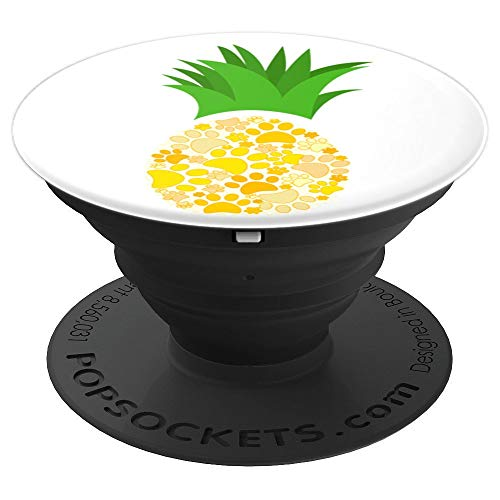 Dog Paw Pineapple - PopSockets Grip and Stand for Phones and Tablets