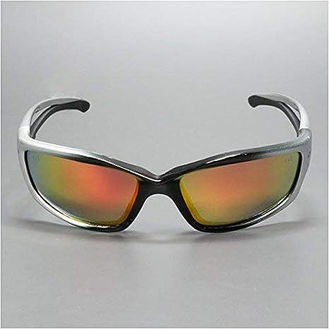 Edge Eyewear Kazbek Safety//Sun Glasses Precision Red Lens Ballistic SKAP119 Z87